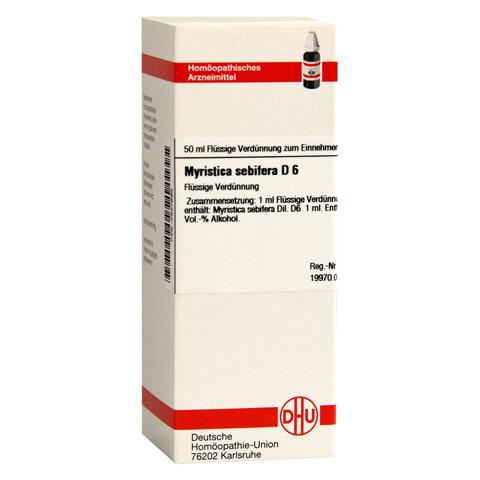 MYRISTICA SEBIFERA D 6 Dilution 50 Milliliter N1