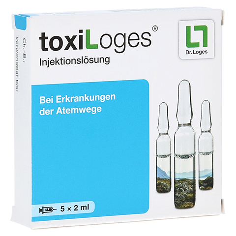 TOXI LOGES Injektionslösung Ampullen 5x2 Milliliter