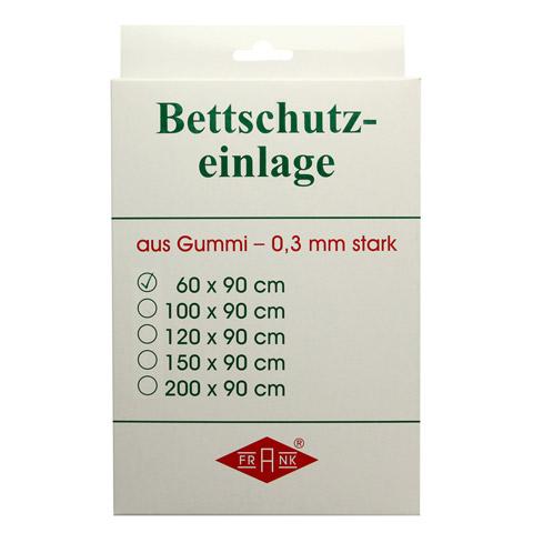 BETTEINLAGE Gummiplatte 0,3 mm 60x90 cm weiß 1 Stück