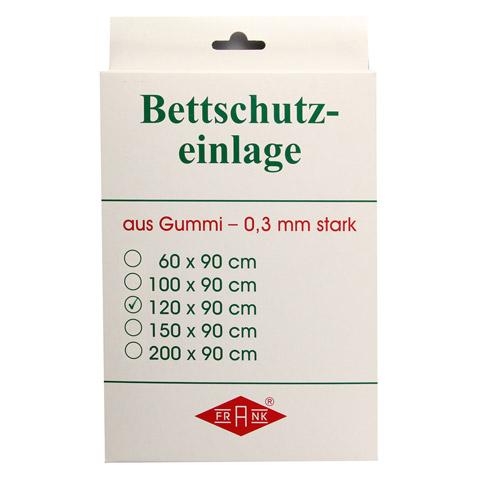 BETTEINLAGE Gummiplatte 0,3 mm 90x120 cm weiß 1 Stück