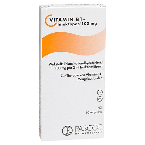 VITAMIN B1 Injektopas 100 mg Injektionslösung 10x2 Milliliter N2
