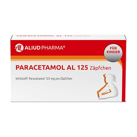 Paracetamol AL 125 10 Stück N1