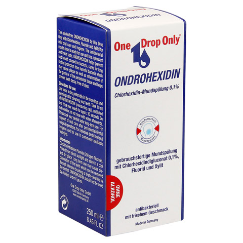 ONE DROP Only ONDROHEXIDIN Lösung 250 Milliliter