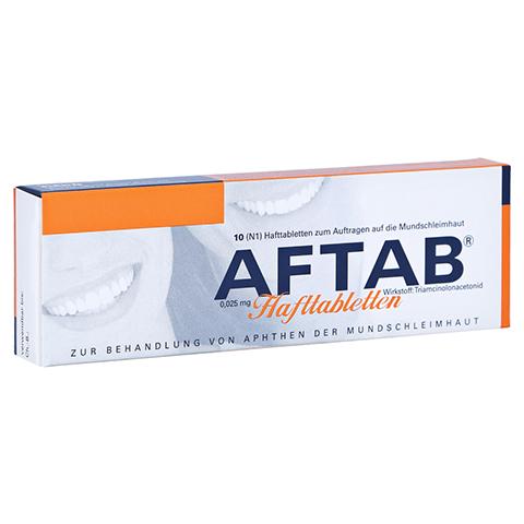 AFTAB Hafttabletten 10 Stück N1