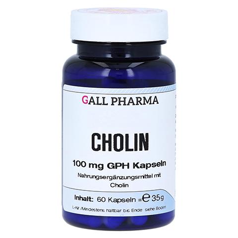 CHOLIN 100 mg GPH Kapseln 60 Stück