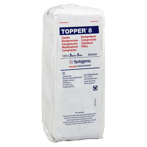 TOPPER 8 Kompr.5x5 cm unsteril 100 Stück