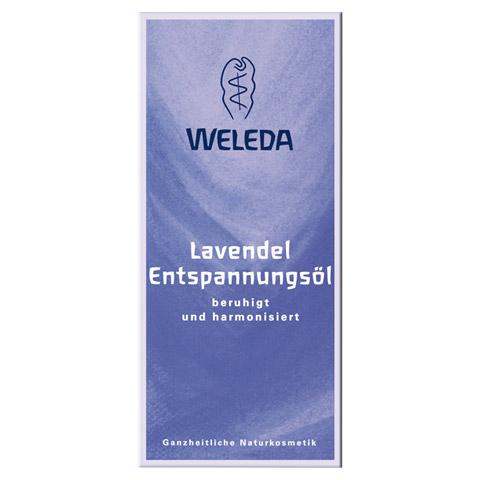 WELEDA Lavendel Entspannungsöl 100 Milliliter