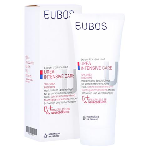 EUBOS TROCKENE Haut Urea 10% Fußcreme 100 Milliliter