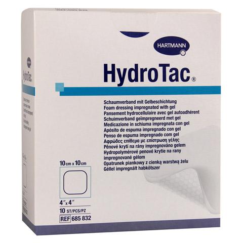 HYDROTAC Schaumverband 10x10 cm steril 10 Stück
