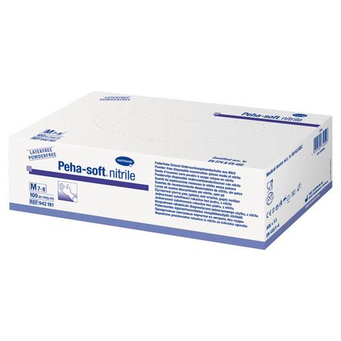PEHA-SOFT nitrile Unt.Handsch.unste.puderfrei M 100 Stück