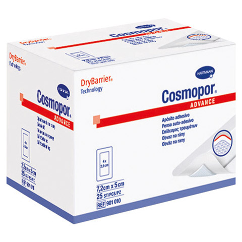 COSMOPOR Advance 5x7,2 cm 25 Stück