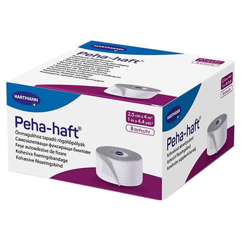 PEHA-HAFT Fixierbinde latexfrei 2,5 cmx4 m 8 Stück