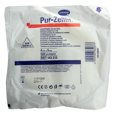 PUR-ZELLIN 4x5 cm unsteril Rolle zu 500 St. 1 Stück
