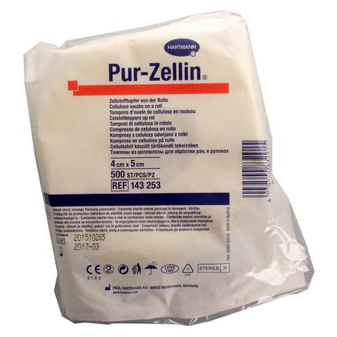 PUR-ZELLIN 4x5 cm steril Rolle zu 500 St. 1 Stück