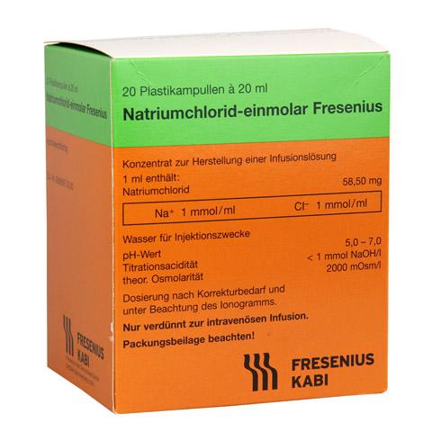 NATRIUMCHLORID-einmol.Fresenius PE-Amp.Inf.-L.-K. 20x20 Milliliter N3