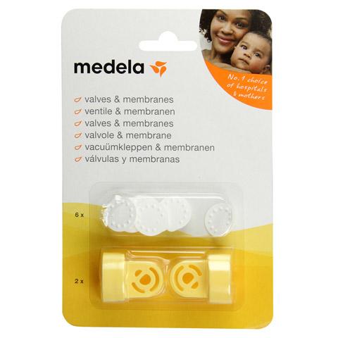 MEDELA Ventilkopf Membr.Multi Set 1 Stück
