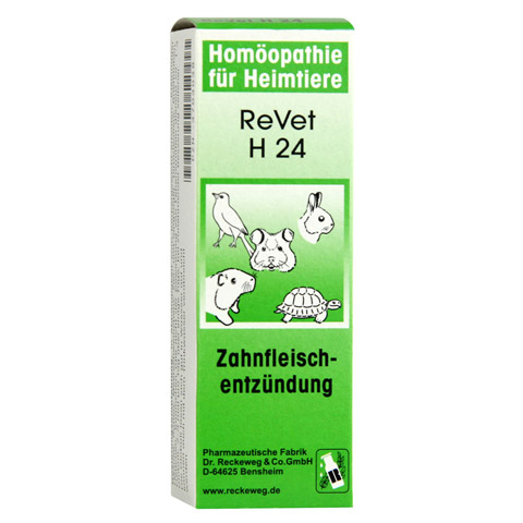 REVET H 24 Globuli f.Heimtiere 10 Gramm