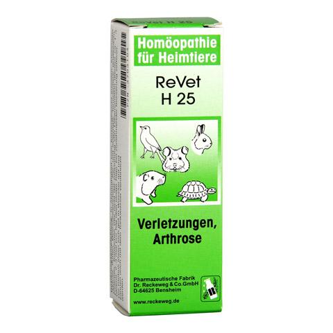 REVET H 25 Globuli f.Heimtiere 10 Gramm