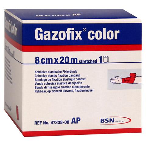 GAZOFIX color Fixierbinde 8 cmx20 m pink 1 Stück