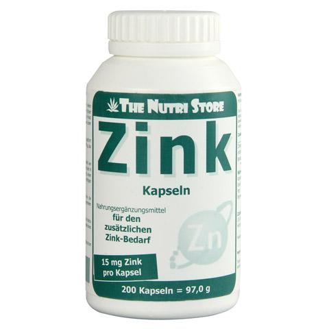 ZINK 15 mg Kapseln 200 Stück