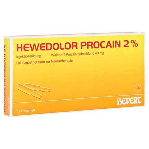HEWEDOLOR Procain 2% Ampullen 10 Stück N1