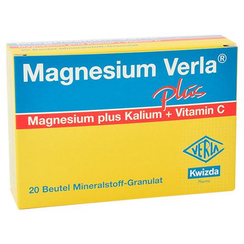 MAGNESIUM VERLA plus Beutel Granulat 20 Stück