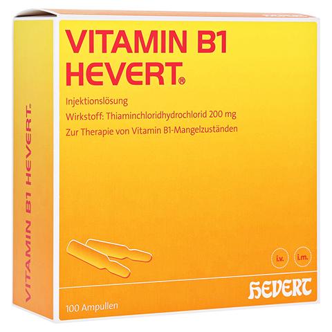 VITAMIN B1 Hevert Ampullen 100 Stück