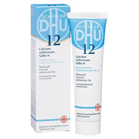 BIOCHEMIE DHU 12 Calcium sulfuricum N D 4 Salbe 50 Gramm N1