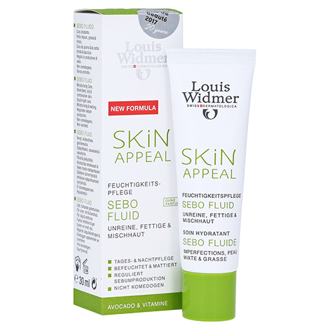 WIDMER Skin Appeal Sebo Fluid unparfümiert 30 Milliliter