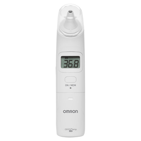 OMRON Gentle Temp 520 digitales Infrarot-Ohrtherm. 1 Stück