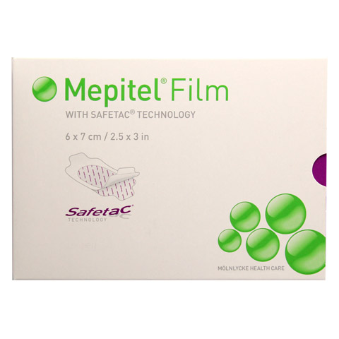 MEPITEL Film Folienverband 6x7 cm 10 Stück