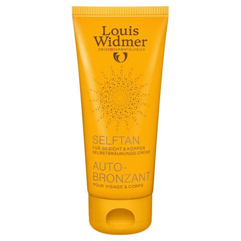 WIDMER SelfTan Lotion leicht parfümiert 100 Milliliter