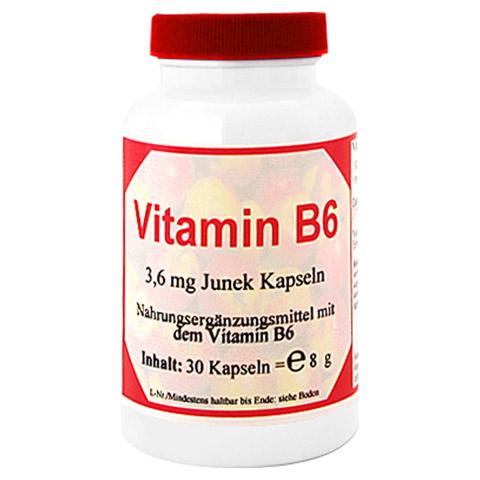 VITAMIN B6 3,6 mg Junek Kapseln 30 Stück