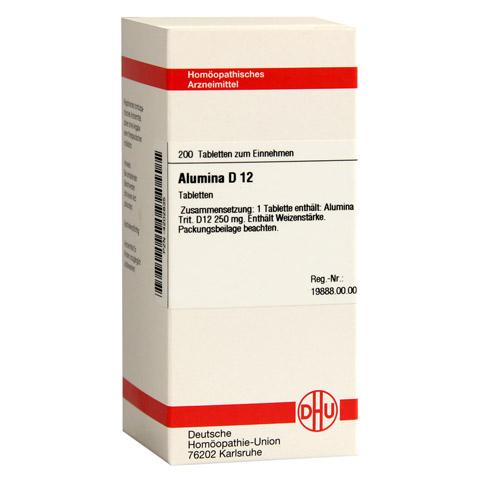 ALUMINA D 12 Tabletten 200 Stück N2