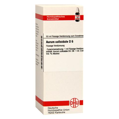 AURUM COLLOIDALE D 6 Dilution 50 Milliliter N1