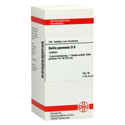 BELLIS PERENNIS D 6 Tabletten 200 Stück N2