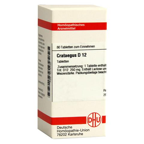 CRATAEGUS D 12 Tabletten 80 Stück N1