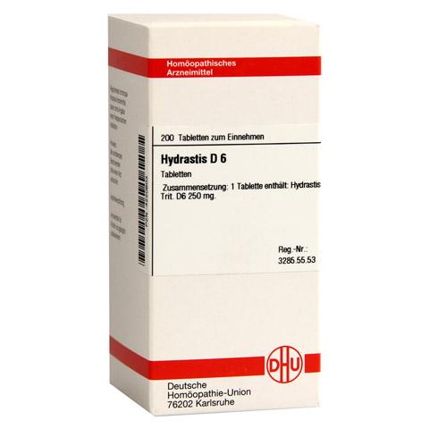 HYDRASTIS D 6 Tabletten 200 Stück N2