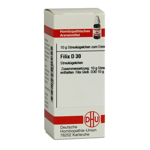 FILIX D 30 Globuli 10 Gramm N1