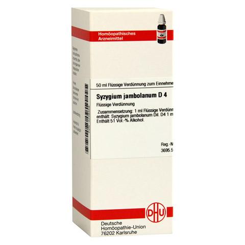 SYZYGIUM JAMBOLANUM D 4 Dilution 50 Milliliter N1