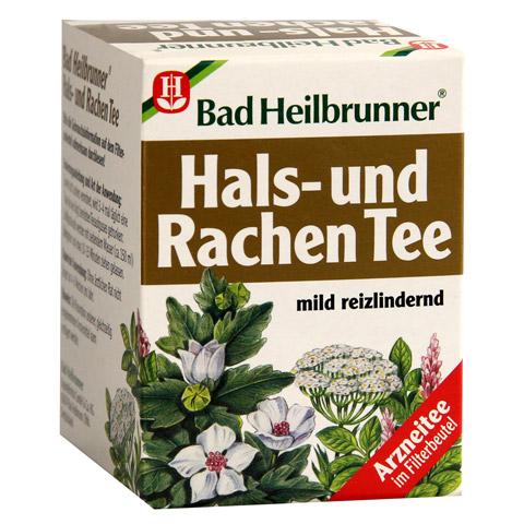 BAD HEILBRUNNER Tee Hals- und Rachen Filterbeutel 8 Stück