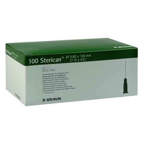 STERICAN Kanülen 21 Gx4 4/5 0,8x120 mm 100 Stück