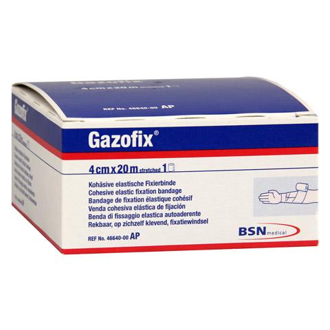 GAZOFIX Fixierbinde 4 cmx20 m hautf. 1 Stück