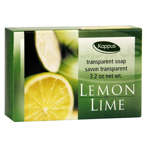 KAPPUS lemon+lime Seife 100 Gramm