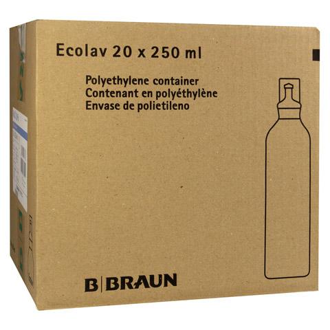 KOCHSALZLÖSUNG 0,9% B.Braun Spüllsg.Ecolav 20x250 Milliliter