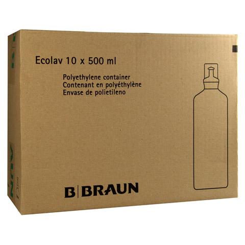 KOCHSALZLÖSUNG 0,9% B.Braun Spüllsg.Ecolav 10x500 Milliliter