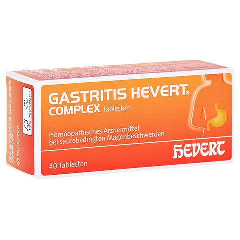 GASTRITIS HEVERT Complex Tabletten 40 Stück N1