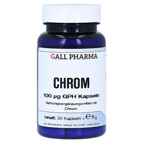 CHROM 100 µg GPH Kapseln 30 Stück