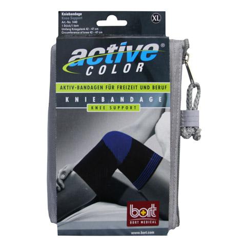 BORT ActiveColor Kniebandage x-large schwarz 1 Stück