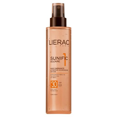 LIERAC Sunific LSF 30 Öl 125 Milliliter